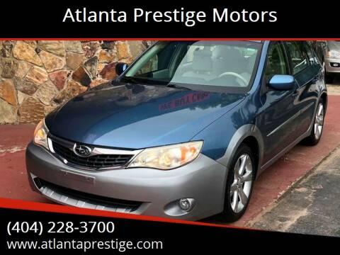 2008 Subaru Impreza for sale at Atlanta Prestige Motors in Decatur GA