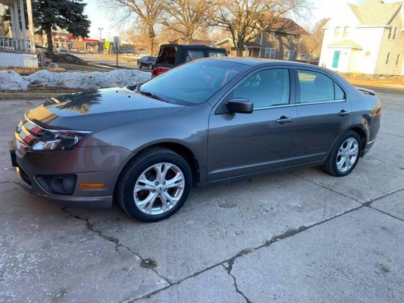 2012 Ford Fusion for sale at BROTHERS AUTO SALES in Hampton IA