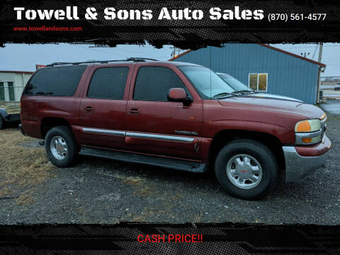 2002 GMC Yukon XL for sale at Towell & Sons Auto Sales in Manila AR