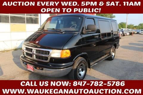 2000 Dodge Ram Van for sale at Waukegan Auto Auction in Waukegan IL