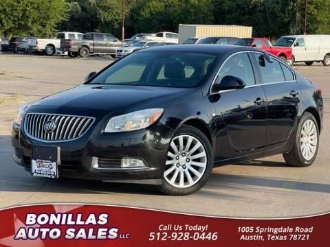 2011 Buick Regal for sale at Bonillas Auto Sales in Austin TX
