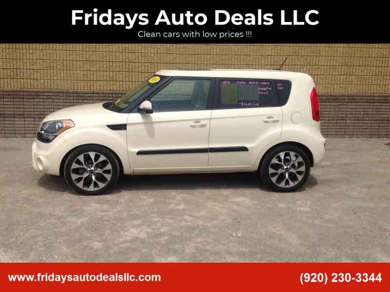 2013 Kia Soul for sale at Fridays Auto Deals LLC in Oshkosh WI