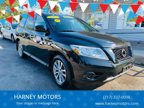 2015 Nissan Pathfinder for sale at HARNEY MOTORS in Gettysburg PA
