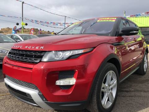 2012 Land Rover Range Rover Evoque for sale at 1st Quality Motors LLC in Gallup NM