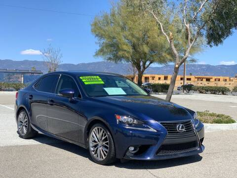 2015 Lexus IS 250 for sale at Esquivel Auto Depot in Rialto CA