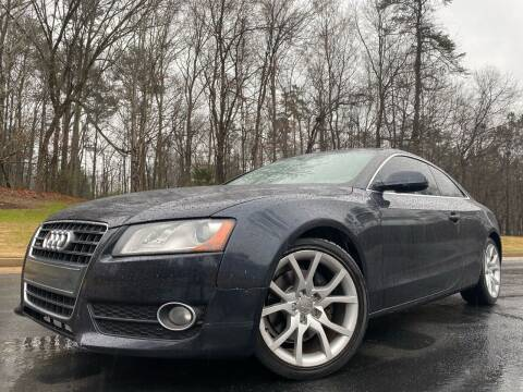2012 Audi A5 for sale at Top Notch Luxury Motors in Decatur GA