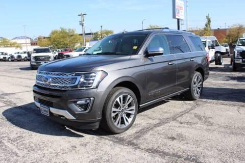 2021 Ford Expedition for sale at BROADWAY FORD TRUCK SALES in Saint Louis MO