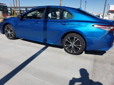 2020 Toyota Camry for sale at ELITE MOTORS in Victorville CA