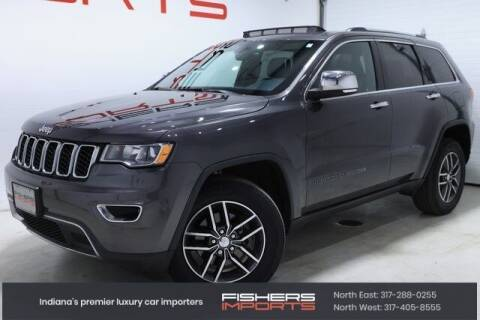 2017 Jeep Grand Cherokee for sale at Fishers Imports in Fishers IN