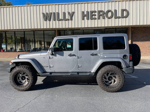 2018 Jeep Wrangler JK Unlimited for sale at Willy Herold Automotive in Columbus GA