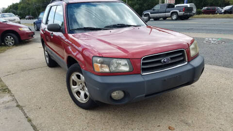 2003 Subaru Forester for sale at PRESTIGE MOTORS in Fredericksburg VA