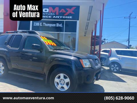 2006 Nissan Xterra for sale at Auto Max of Ventura in Ventura CA