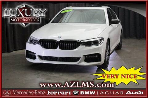 2018 BMW 5 Series for sale at Luxury Motorsports in Phoenix AZ