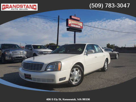 2003 Cadillac DeVille for sale at Grandstand Auto Sales in Kennewick WA