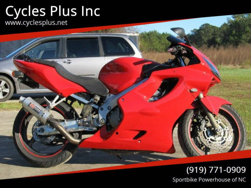 2004 Honda CBR 600 F4i for sale at Cycles Plus Inc in Garner NC