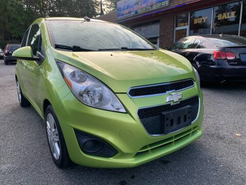 2013 Chevrolet Spark for sale at D & M Discount Auto Sales in Stafford VA