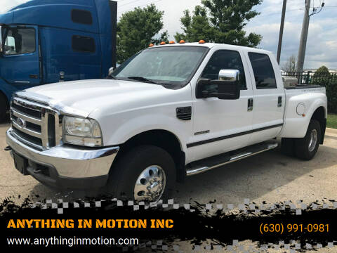 2003 Ford F-350 Super Duty for sale at ANYTHING IN MOTION INC in Bolingbrook IL