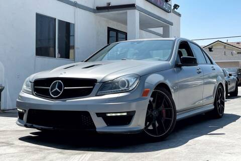 2014 Mercedes-Benz C-Class for sale at Fastrack Auto Inc in Rosemead CA