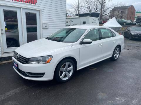2013 Volkswagen Passat for sale at Car VIP Auto Sales in Danbury CT