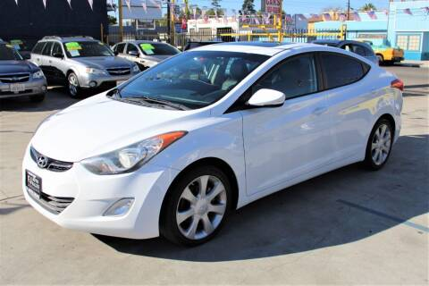 2011 Hyundai Elantra for sale at FJ Auto Sales in North Hollywood CA