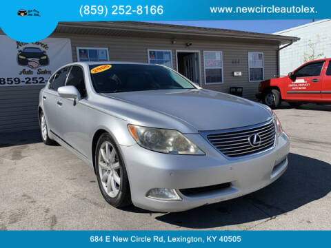 2008 Lexus LS 460 for sale at New Circle Auto Sales LLC in Lexington KY
