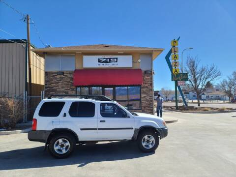 2001 Nissan Xterra for sale at 719 Automotive Group in Colorado Springs CO