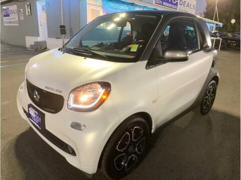 2017 Smart fortwo electric drive for sale at AutoDeals in Daly City CA