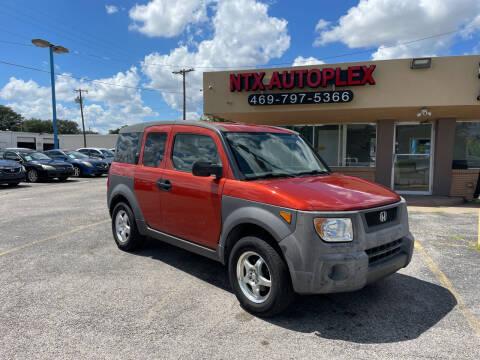 2003 Honda Element for sale at NTX Autoplex in Garland TX