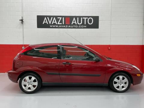 2002 Ford Focus for sale at AVAZI AUTO GROUP LLC in Gaithersburg MD