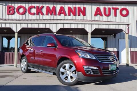 2015 Chevrolet Traverse for sale at Bockmann Auto Sales in St. Paul NE
