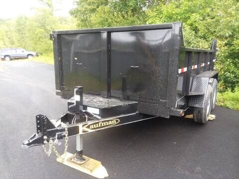 2021 Kaufman 6.5x10 Dump Trailer XSLP for sale at Mascoma Auto INC in Canaan NH