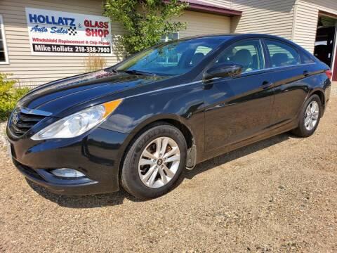 2013 Hyundai Sonata for sale at Hollatz Auto Sales in Parkers Prairie MN