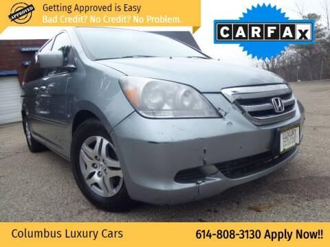 2007 Honda Odyssey for sale at Columbus Luxury Cars in Columbus OH