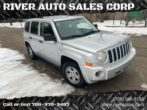 2008 Jeep Patriot for sale at RIVER AUTO SALES CORP in Maywood IL