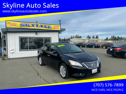 2014 Nissan Sentra for sale at Skyline Auto Sales in Santa Rosa CA