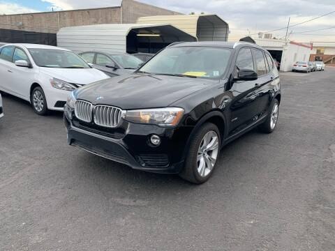 2016 BMW X3 for sale at Auto Center Of Las Vegas in Las Vegas NV