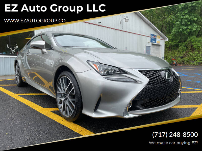 2015 Lexus RC 350 for sale at EZ Auto Group LLC in Lewistown PA