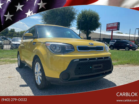 2015 Kia Soul for sale at CARBLOK in Lewisville TX