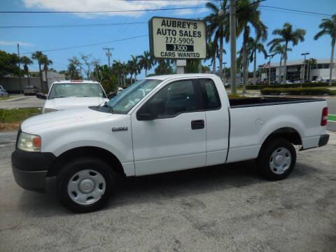 2006 Ford F-150 for sale at Aubrey's Auto Sales in Delray Beach FL