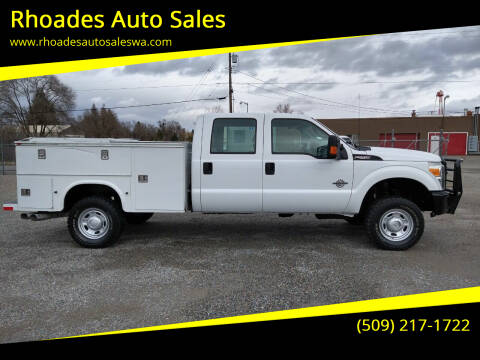2011 Ford F-250 Super Duty for sale at Rhoades Auto Sales in Spokane Valley WA