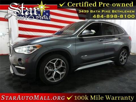 2017 BMW X1 for sale at STAR AUTO MALL 512 in Bethlehem PA