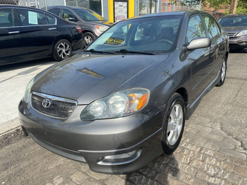 2006 Toyota Corolla for sale at DEALS ON WHEELS in Newark NJ