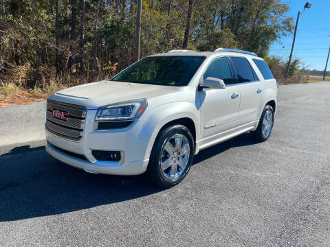 2015 GMC Acadia for sale at Autoteam of Valdosta in Valdosta GA