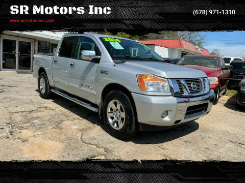 2014 Nissan Titan for sale at SR Motors Inc in Gainesville GA