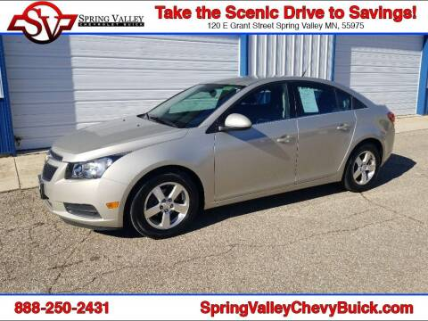 2013 Chevrolet Cruze for sale at Spring Valley Chevrolet Buick in Spring Valley MN