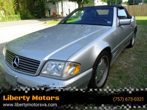 1998 Mercedes-Benz SL-Class for sale at Liberty Motors in Chesapeake VA