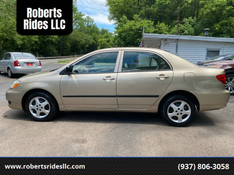 2006 Toyota Corolla for sale at Roberts Rides LLC in Franklin OH