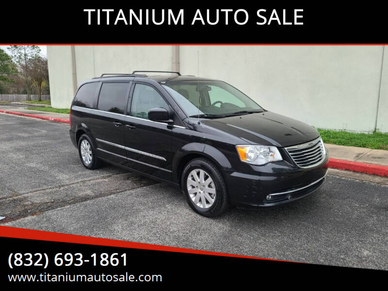 2015 Chrysler Town and Country for sale at TITANIUM AUTO SALE in Houston TX