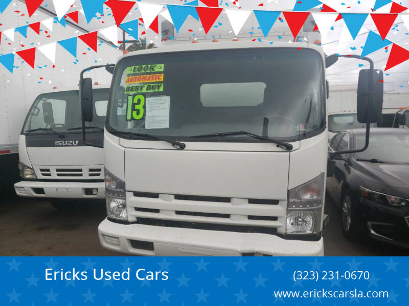 2013 Isuzu NPR for sale at Ericks Used Cars in Los Angeles CA
