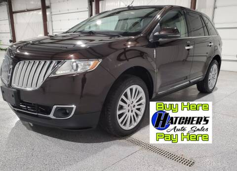 2013 Lincoln MKX for sale at Hatcher's Auto Sales, LLC - Buy Here Pay Here in Campbellsville KY